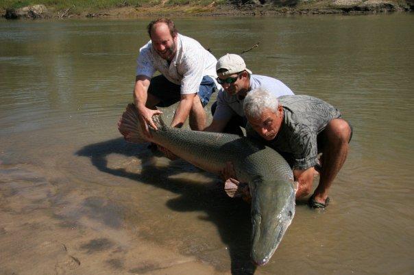 Alligator gar fishing trip guide gar fishing guide for Jeremy wade fishing rod